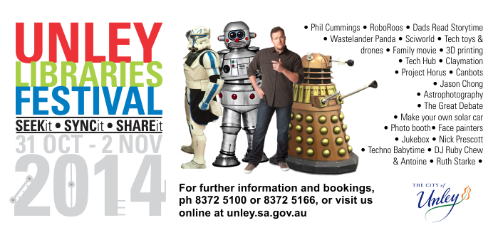 Unley Libraries Festival 2014