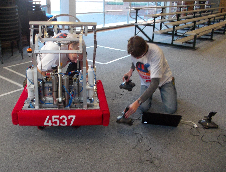 DDU 2014 Robot